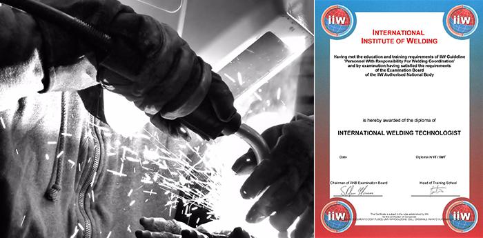 Offre d'emploi coordonateur soudage IWT / IWE